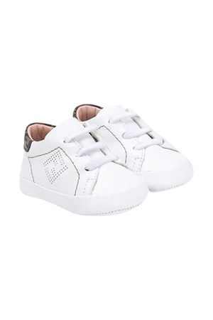 White sneakers with round tip Fendi kids FENDI KIDS | 12 | BUR032ADGAF0TX3