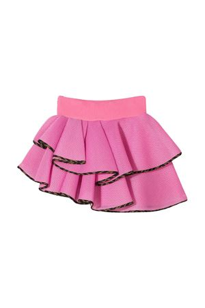 Pink asymmetrical Fendi kids skirt FENDI KIDS | 15 | JFE057ACA0F1BUD