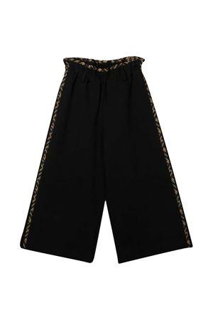 Black trousers teen Fendi kids  FENDI KIDS | 9 | JFF206A6IKF0QA1T