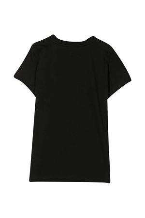 Black t-shirt with frontal print Fendi kids FENDI KIDS | 8 | JFI2037AJF0QA1