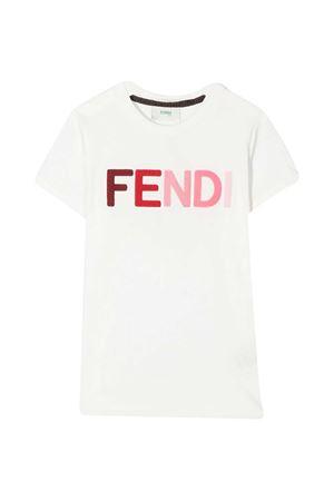 White t-shirt Fendi kids FENDI KIDS | 8 | JFI2037AJF0TU9
