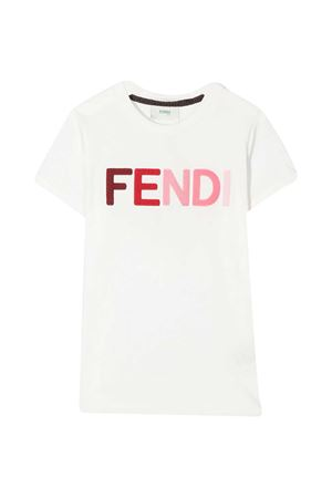 T-shirt bianca teen Fendi kids FENDI KIDS | 8 | JFI2037AJF0TU9T