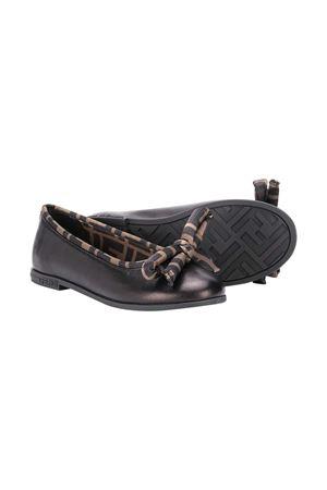 Black shoes Fendi Kids  FENDI KIDS | 12 | JFR314AD7CF0XLL