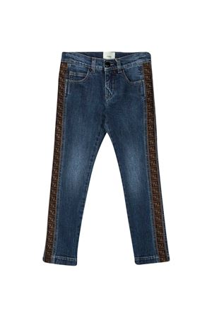 Jeans blu teen Fendi kids FENDI KIDS | 9 | JMF316A6IQF16WET