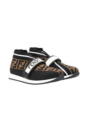 Sneakers marroni teen Fendi kids FENDI KIDS | 12 | JMR320AAE1F19N7T