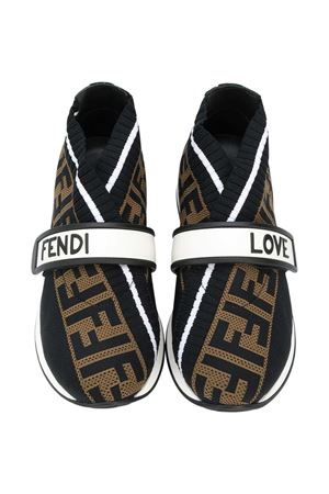 Brown sneakers Fendi kids  FENDI KIDS | 12 | JMR320AAE1F19N7