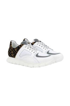 Sneakers bianche teen Fendi kids FENDI KIDS | 12 | JMR333A8CJF15EUT
