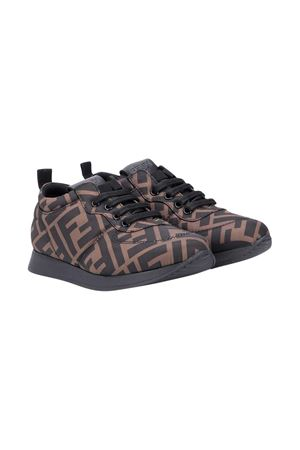 Brown sneakers Fendi kids  FENDI KIDS | 12 | JMR339A8CEF0R7V