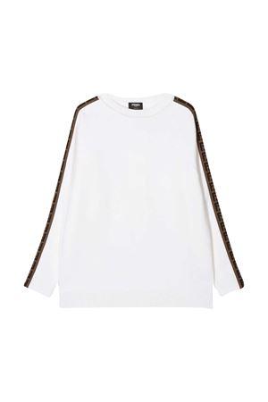 White sweatshirt Fendi Kids  FENDI KIDS | 7 | JUG003A8L9F0TU9
