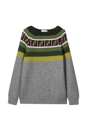 Sweater gray teen Fendi Kids  FENDI KIDS | 8 | JUG005GM4F0L60T