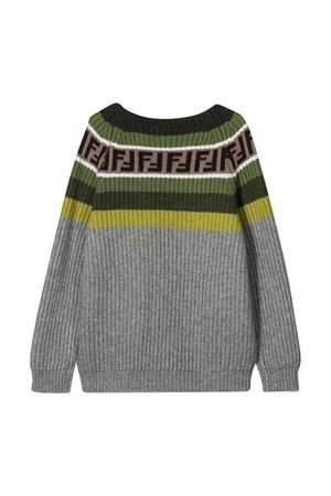 Gray sweater Fendi Kids  FENDI KIDS | 8 | JUG005GM4F0L60