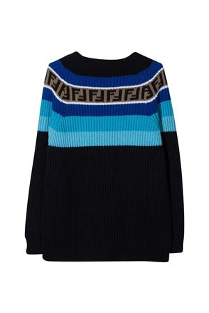 Fendi Kids blue teen sweater  FENDI KIDS | 8 | JUG005GM4F0UD6T
