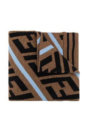 Brown scarf Fendi Kids  FENDI KIDS | 77 | JUQ001A2M4F1C5I