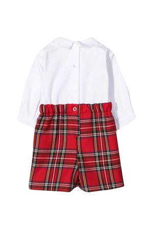 Mariella Ferrari checked baby suit  FERRARI MARIELLA | -1617276553 | PGF6BIS058