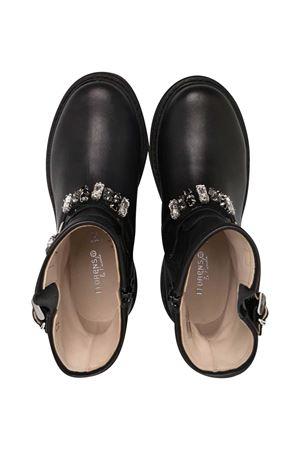 Florens black ankle boots  FLORENS KIDS | 12 | J1353CAM