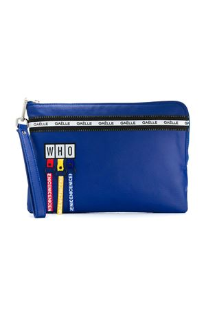 Clutch blu con applicazioni multicolor Gaelle Paris kids Gaelle | 31 | 2741BAG0287ROYAL
