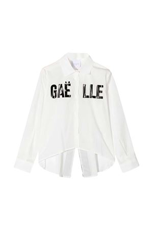Gaelle Paris Kids white teen shirt  Gaelle | 5032334 | 2741C0165BIANCAT
