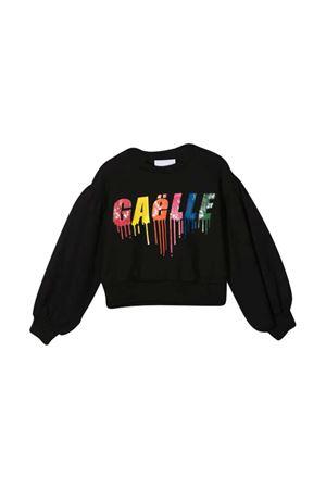 Black sweatshirt teen  Gaelle Paris Kids Gaelle | -108764232 | 2741F0266NEROT