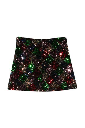 Black mini skirt teen Gaelle Paris Kids Gaelle | 15 | 2741G0140MULTICOLORT