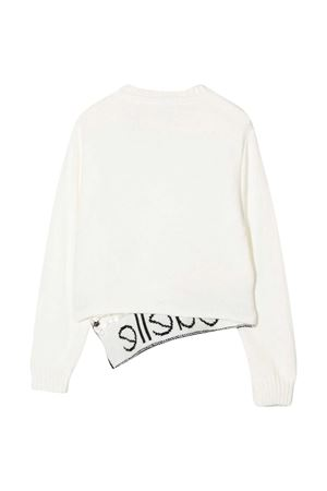 White sweater Gaelle Kids  Gaelle | 7 | 2741W0228BIANCO/NERO