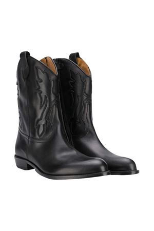 Black leather boots Gallucci Gallucci | 76 | J30080AMAGZB37