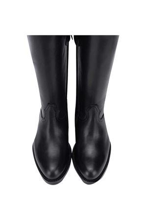 Stivali in pelle neri Gallucci Gallucci | 76 | J40018AM585B38