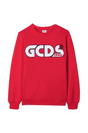Felpa rossa teen GCDS kids GCDS KIDS | -108764232 | 025744040T