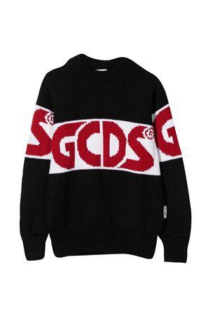 Black GCDS teen kids sweater GCDS KIDS | -108764232 | 025756110T