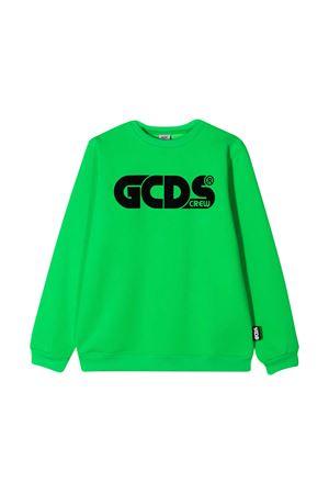 Diadora Junior fluo green sweatshirt  GCDS KIDS | -108764232 | 025775169