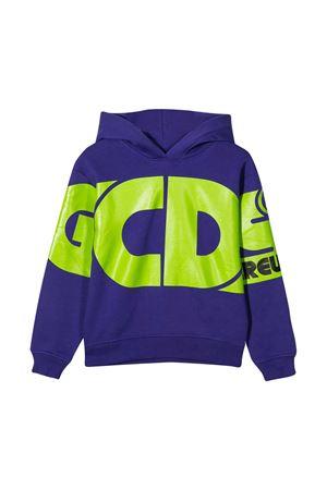 Purple teen GCDS kids crew sweatshirt  GCDS KIDS | 5032280 | 025792070T