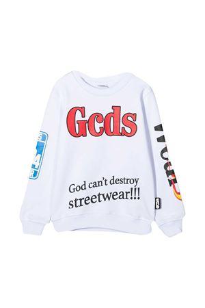 White sweatshirt teen Gcds Kids  GCDS KIDS | -108764232 | 025875001T