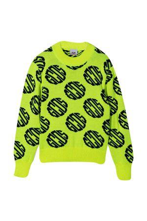 Fluo yellow sweater Gcds Kids GCDS KIDS | -108764232 | 025890023T