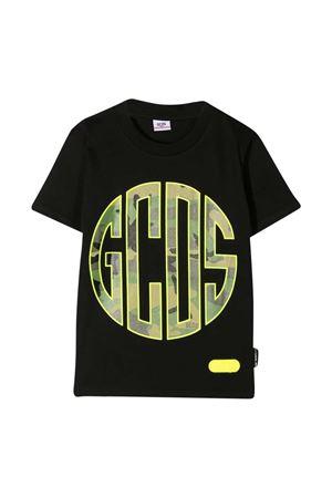 Black t-shirt teen GCDS kids  GCDS KIDS | 8 | 025893110T