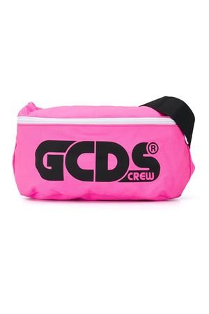 Fucsia belt bag with black logo GCDS kids GCDS KIDS | 5032342 | 025921134