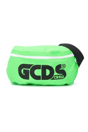 Green belt bag with black logo GCDS kids GCDS KIDS | 5032342 | 025921169