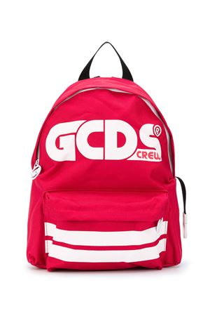 White and red backpack with logo GCDS kids GCDS KIDS | 5032345 | 025922040