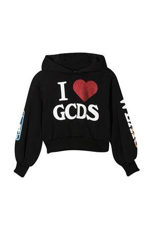 Black sweatshirt teen Gcds Kids GCDS KIDS   -108764232   026178110T