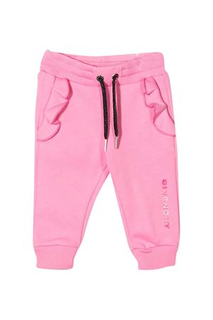 Newborn pink trousers Givenchy Kids  Givenchy Kids | 9 | H0408944G