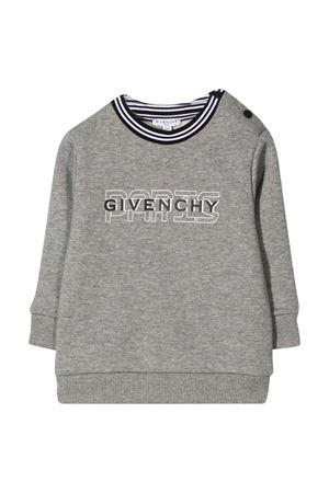 Felpa grigia Givenchy Kids neonato Givenchy Kids | -108764232 | H05151A47