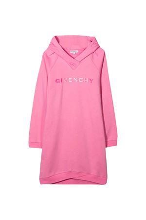 Abito felpa rosa teen Givenchy kids Givenchy Kids | 11 | H1213344GT