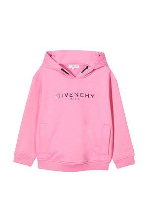 Felpa rosa teen Givenchy Kids Givenchy Kids | -108764232 | H1517144GT