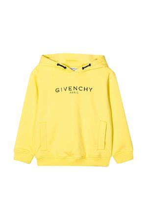 Felpa gialla teen Givenchy Kids Givenchy Kids | -108764232 | H15171508T