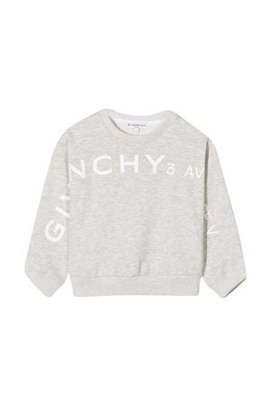 Felpa grigia teen Givenchy Kids Givenchy Kids | -108764232 | H15174A01T