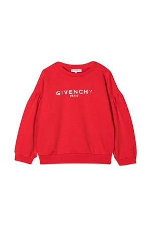 Red Givenchy Kids sweatshirt  Givenchy Kids | -108764232 | H15175991