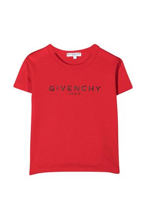 T-shirt rossa Givenchy kids Givenchy Kids | 8 | H15185991