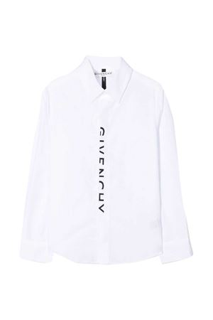Camicia bianca teen Givenchy kids Givenchy Kids | 5032334 | H2520110BT