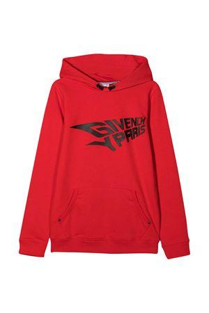 Felpa rossa teen Givenchy kids Givenchy Kids | -108764232 | H25206991T