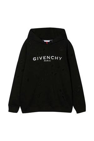 Felpa nera Givenchy kids Givenchy Kids | -108764232 | H2520709B