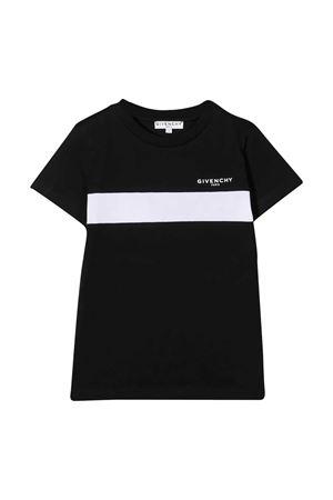 T-shirt nera Givenchy kids Givenchy Kids   8   H2521709B