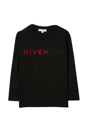 T-shirt nera teen Givenchy kids Givenchy Kids   8   H2521909BT